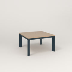RAD Solid Coffee Table in tricoya and navy powder coat.