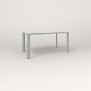 RAD Solid Table in solid steel and grey powder coat.