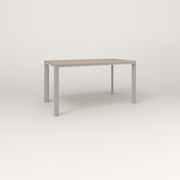 RAD Solid Table in tricoya and grey powder coat.