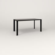 RAD Solid Table in solid steel and black powder coat.