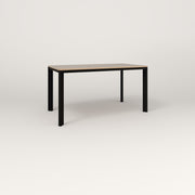 RAD Solid Table in tricoya and black powder coat.