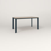 RAD Solid Table in tricoya and navy powder coat.