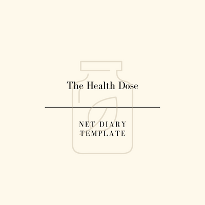 The Health Dose | NET Diary