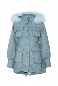 PARKA HIGHLY PREPPY COTTON