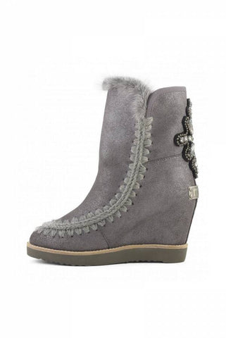BOTAS MOU FRENCH TOE WEDGE BACK PATCH CROSS DUST IRON