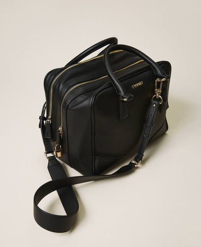 Image of bolso ecopiel twinset doble compartimento