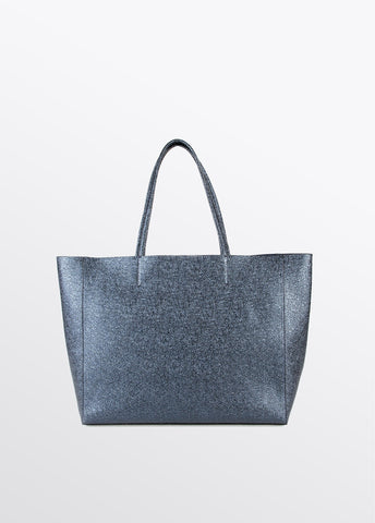 Image of bolso shopper azul brillante lola casademunt