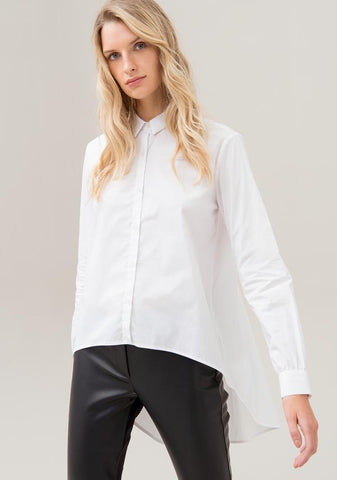 Image of Camisa Blanca Fracomina Over Fit