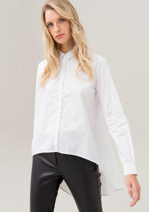 Camisa Blanca Fracomina Over Fit