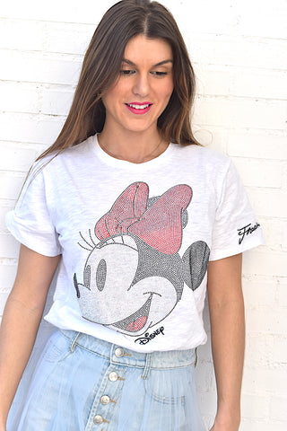 Image of Camiseta Blanca Minnie Fracomina