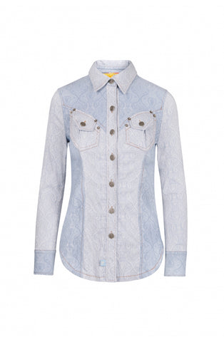 Image of Camisa Highly Preppy Jacquard