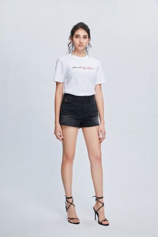 Image of Short Denim Negro Miss sixty
