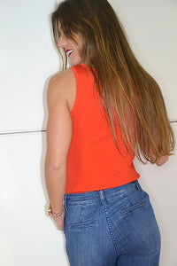 Top Twinset Naranja
