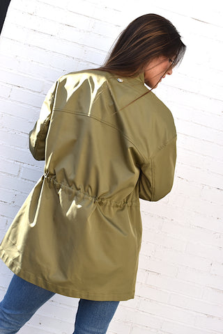Trench Verde Twinset