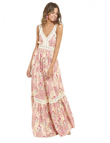 Image of Vestido Flores Positive Dress Luna Maga