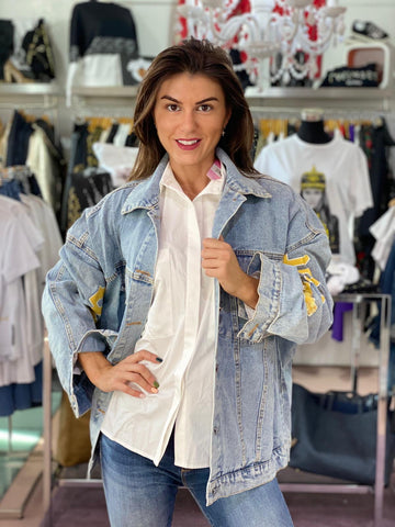 Cazadora Casual Chic denim