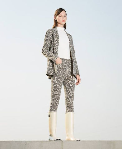 Image of look tejano animal print twinset