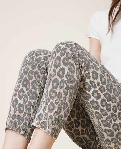 Pantalon Twinset animal Print
