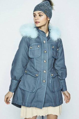 Image of PARKA HIGHLY PREPPY COTTON