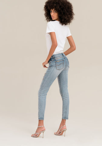 Image of Jeans Bella Fracomina Strass