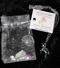 Load image into Gallery viewer, Unicorn Gemstone/Necklace Gift Pouch