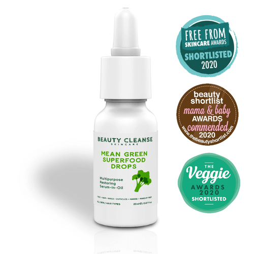 Restoring Mean Green Superfood Drops BEAUTY CLEANSE