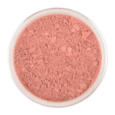 Blusher, honeypie minerals, minerals, matte shade for a soft, feminine look, pale pink matte, rosy-cheeked look, pink-peach, sensitive skin, Improved Skin Hydration, Eczema, Psoriasis or Irritation
