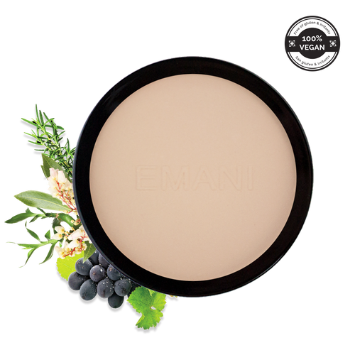 Flawless Matte Pressed Mineral Foundation, powder foundation, mineral foundation, sensitive skin, Improved Skin Hydration, Eczema, Psoriasis or Irritation