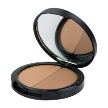 Load image into Gallery viewer, bronzer, honeypie minerals, minerals, matte shade, soft, feminine look, contour, matte, bronzed cheeks, sensitive skin, Improved Skin Hydration, Eczema, Psoriasis or Irritation, vegan make up, organic make up