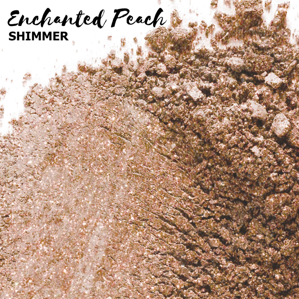 Peach & Rose Gold Eyeshadows ROOT MINERALS