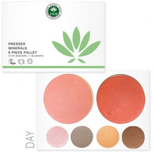 Load image into Gallery viewer, Eye shadow, palette, make up palette, eyeshadow makeup, eyeshadow palette, phb ethical, natural, vegan, eco, makeup, eye makeup, cosmetics, eye makeup looks, pink eyeshadow, blusher