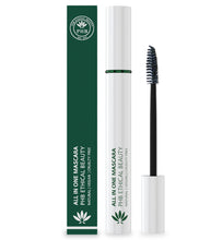 Load image into Gallery viewer, Mascara, mascara not tested on animals uk, mascara new, mascara natural look, mascara ethical, mascara vegan, mascara natural, mascara brush, black mascara, brown mascara