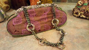 Mary Frances Hand Bag Oblong Retired Design