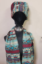 Load image into Gallery viewer, Hat and Scarf Set - Choice of Colors/Design
