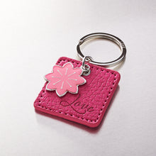 Load image into Gallery viewer, Pink Love Keyring