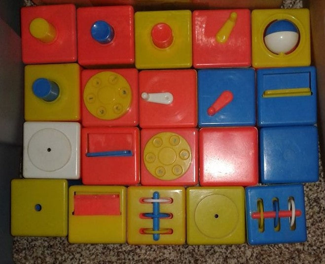Vintage Toy Blocks