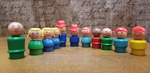 Fisher Price People - Vintage Collectible
