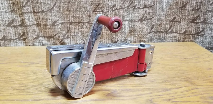Antique Red Can Opener