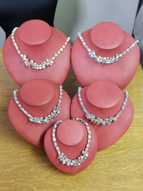 Viva Bead Cluster Necklace - Choice of Colors