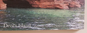 Devil's Island - Apostle Islands National Lakeshore Sign