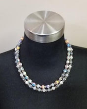 Load image into Gallery viewer, Viva Beads Clay Med Beads Smoked Crystal Beaded Necklace (2 Choices of colors)