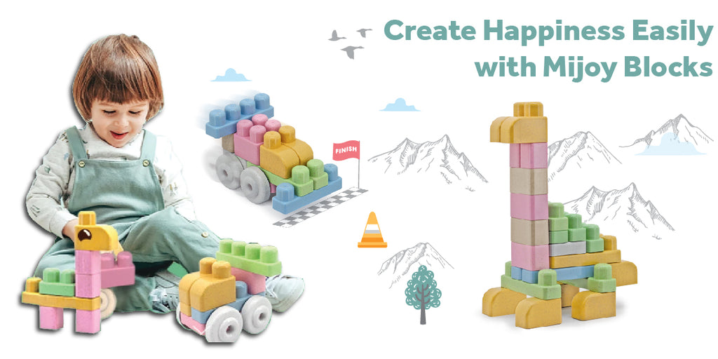 Create happiness with Mijoy Blocks