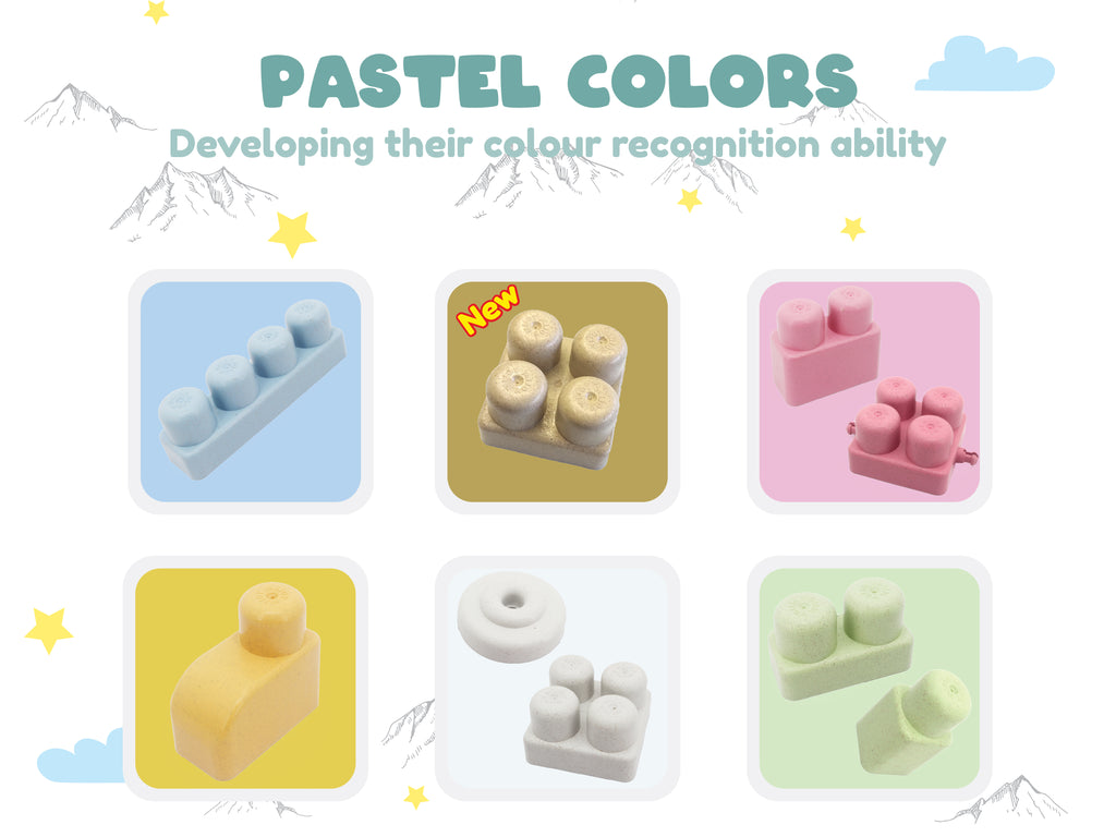 Pastel and soft colours