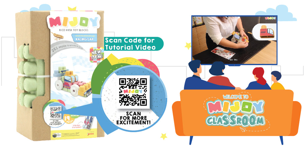 QR code, tutorial video