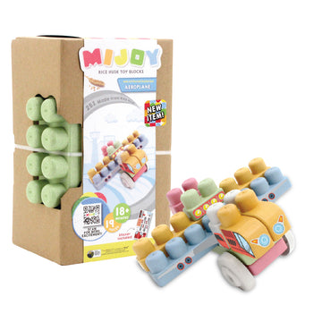 Mijoy Aeroplane Toy Blocks