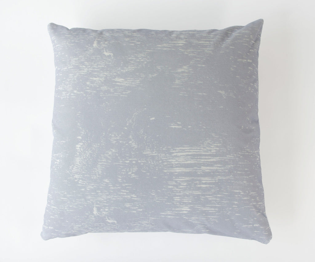 Wood Grain Study Print Velvet Pillow in Lavender