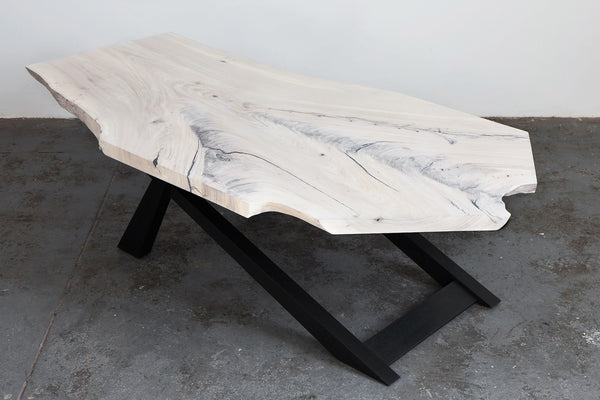Whitewash Elm Coffee Table Fiercely Curious