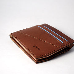 Bi Fold Wallet Brown