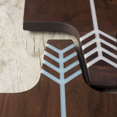 ARROW BOARD WALNUT/WHITE