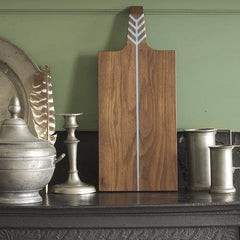 ARROW BOARD WALNUT/PALE BLUE